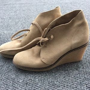 JCREW wedge chukka
